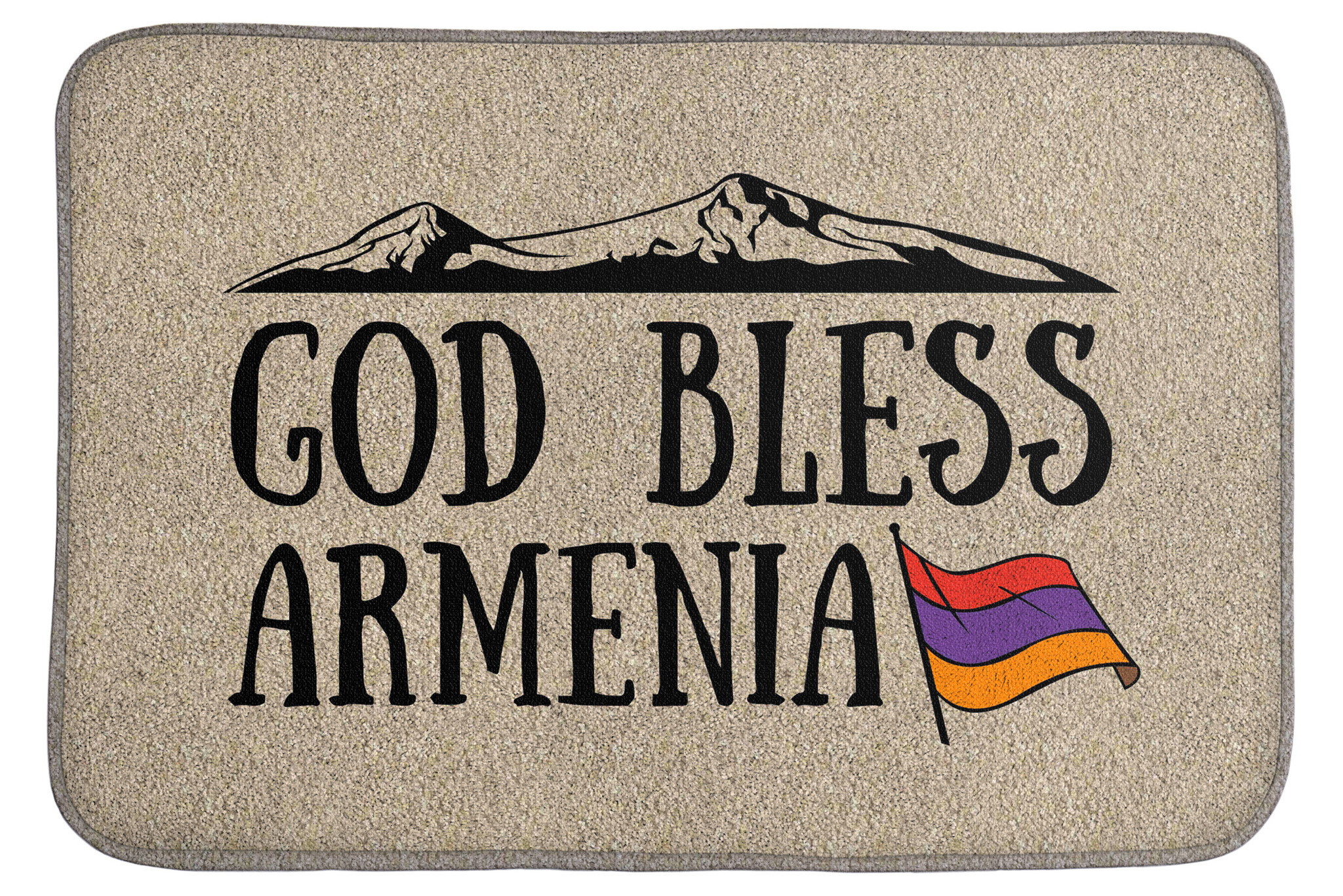 Коврик God bless Armenia