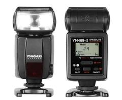 Вспышка Yongnuo Speedlite YN 468 II E-TTL для Canon