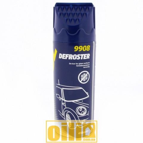 Mannol 9908 DEFROSTER 450ml, размораживатель для стекол маннол, купить размораживатель для стекол украина, антилед маннол, купить антилед украина