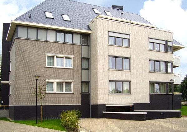 Roben - Faro, grau nuanciert, NF9, 240x9x71, гладкая (glatt) - Клинкерная плитка для фасада и внутренней отделки