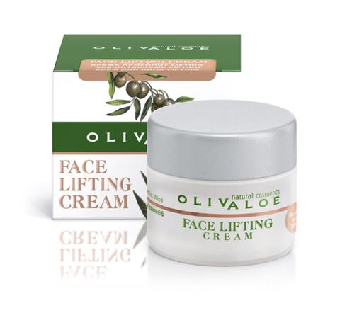 Подтягивающий крем для всех типов кожи лица с лифтинг эффектом OlivAloe 40 мл