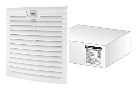 Вентилятор с фильтром универсальный ВФУ 305/271 м3/час 230В 64Вт IP54 TDM