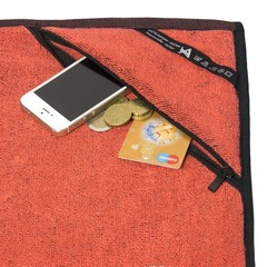 Полотенце AE Sport towel orange #2