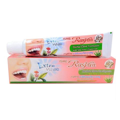 Травяная отбеливающая зубная паста с экстрактом гвоздики Isme Rasyan 100гр