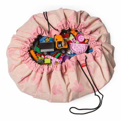 Мешок для игрушек Play&Go Designer РОЗОВЫЙ СЛОН 79974