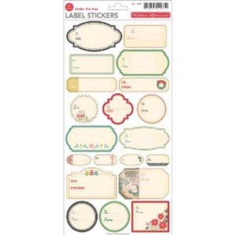 Набор  стикеров для журналинга Label stickers