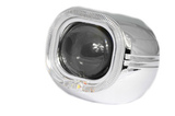 Маска для билинз Z131 LED Cree + анг.глазки+блок питания