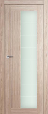 > Экошпон Profil Doors №47X-Модерн, стекло матовое, цвет капучино мелинга, остекленная