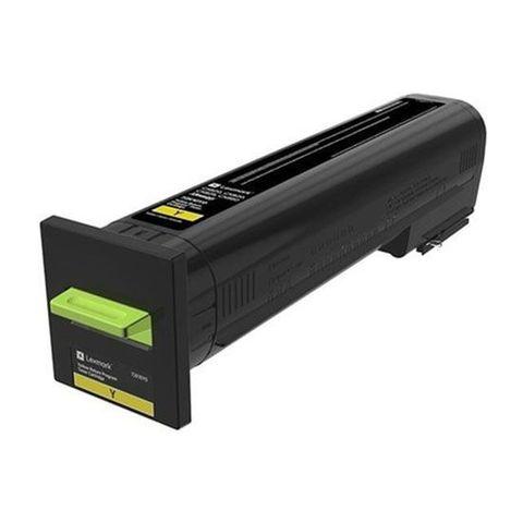 Картридж для принтеров Lexmark CS820/CX820/CX825/CX860 желтый (yellow). Ресурс 8000 стр (72K50Y0)