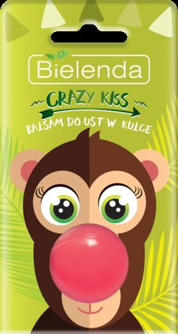 CRAZY KISS бальзам для губ BALL Monkey