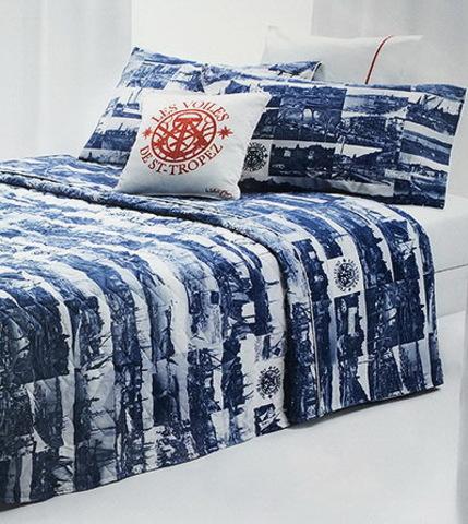Постельное белье 1.5 спальное Mirabello Vintage Cards синее