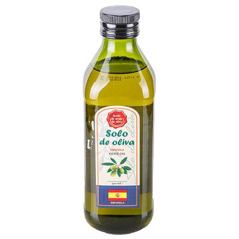 "Масло ""Solo de oliva"" Extra Virgin оливковое 0,5 л"