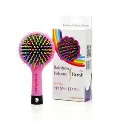 """Расческа для объема с зеркалом """"Rainbow Volume Brush"""""""