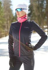 Женская тёплая лыжная куртка Nordski Motion 2019 BlueBerry/Pink