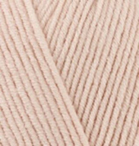 Пряжа Cotton gold (Alize) 382 телесный цвет, фото