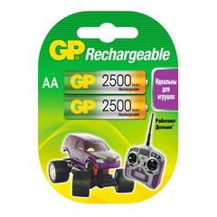 Аккумулятор GP 2500 мАн АА/НR6 NiMh бл/2 GР250ААНС-2СR2