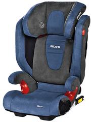 Детское кресло RECARO Monza Seatfix (материал верха Trendline Bellini Shadow/Blue)