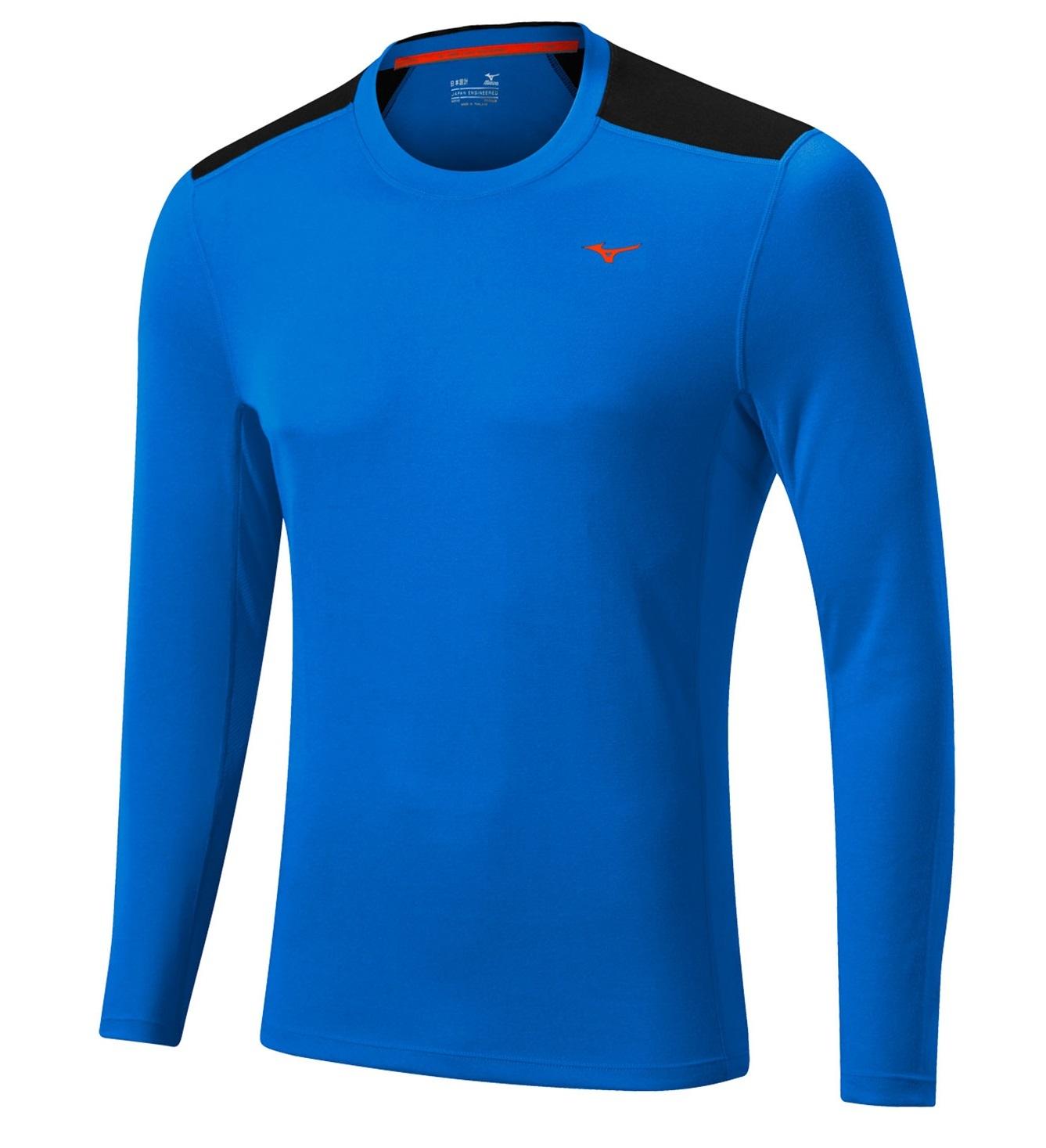 Мужская беговая рубашка Mizuno WarmaLite L/S Tee (J2GA5508 23)