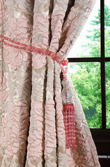 Готовая штора Ameli (розовый)