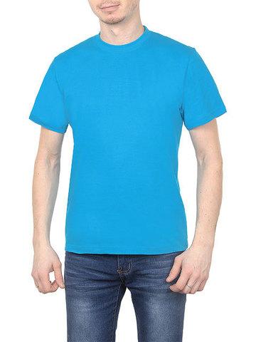 K505-19 футболка мужская, голубой