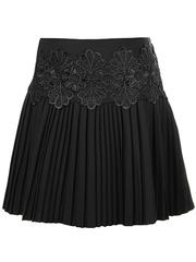 2228-1 юбка детская, черная