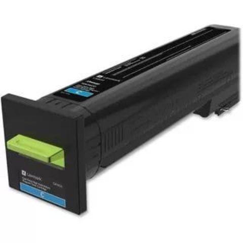 Картридж для принтеров Lexmark CS820/CX820/CX825/CX860 желтый (yellow). Ресурс 8000 стр (72K50YE)