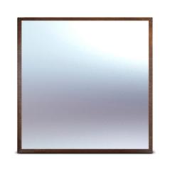 модуль с зеркалом 220х220 см , каштановый