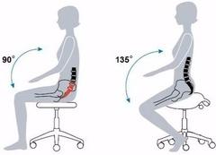 Стул-седло с 3-мя регулировочными механизмами 854
