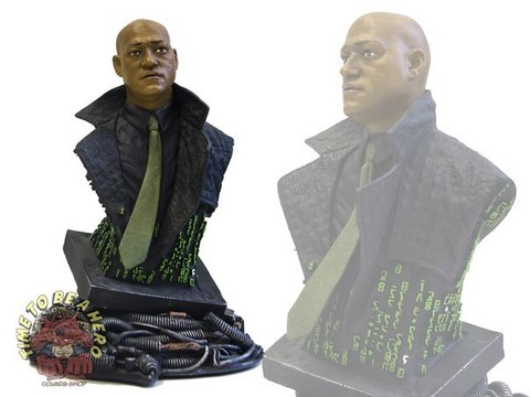Matrix Morpheus Mini-Bust