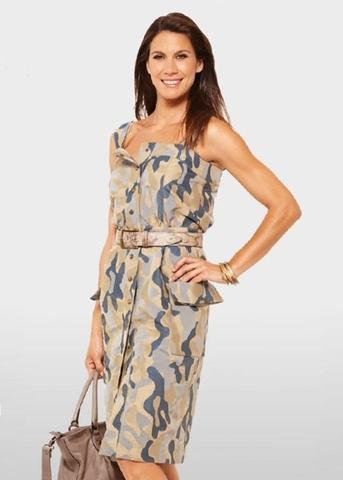 Выкройка Burda (Бурда) 7355 — Платье, топ, юбка