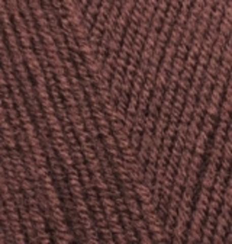 Пряжа Alize Lanagold Fine коричневый 583