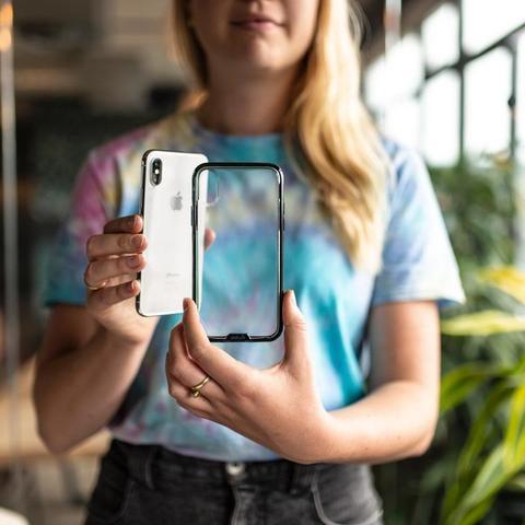 Прозрачный чехол Mous iPhone X/XS Case Clarity