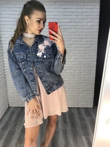 джинсовые куртки женские