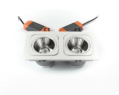 светильник точечный карданный L6129BACOB-2x15W