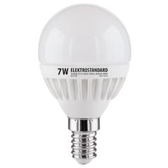 Лампа светодиодная Mini Classic E14 7W 4200K шар матовый 4690389061646