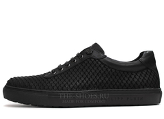 Кеды Мужские Philipp Plein Low-Top Embossed-Python