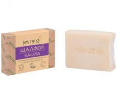 Натуральное мыло ручной работы Шалфей 100g, ТМ Levrana