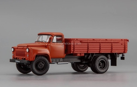 GAZ-53F board truck 1963 dark-red DIP 1:43
