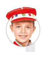 Дымковская игрушка картуз для мальчика