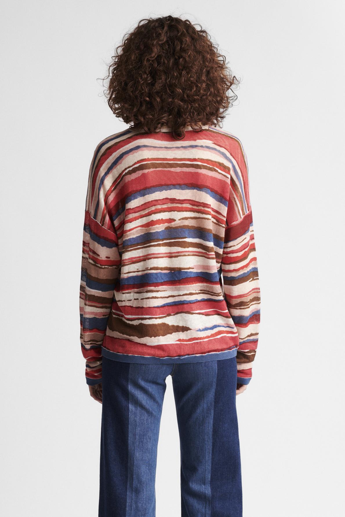 ERIKA - Пуловер - оверсайз из льна