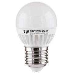 Лампа светодиодная Mini Classic E27 7W 3300K шар матовый 4690389061639