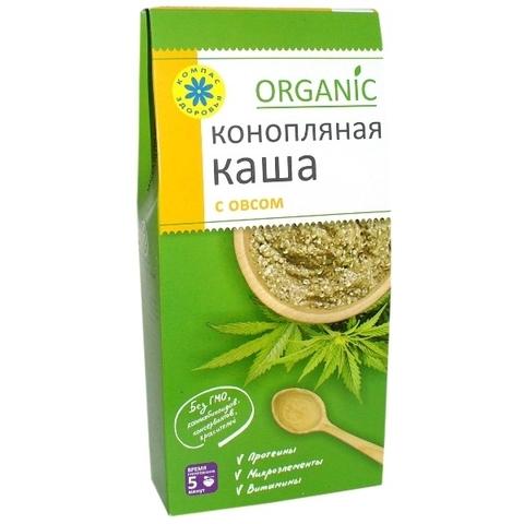 Каша Конопляная с овсом 250 г (Компас здоровья)