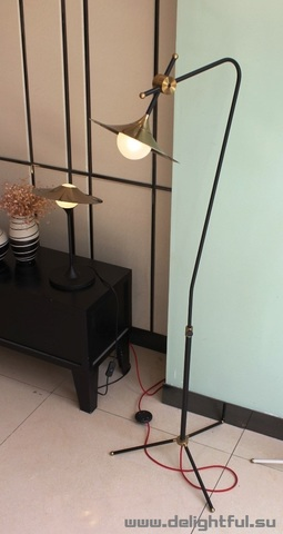 replica BULLARUM floor lamp by Intueri Light ( black )