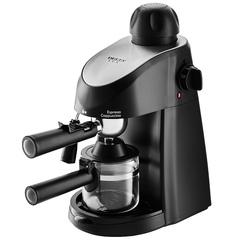 Кофеварка DELTA  LUX DL-8150К рожковая черная