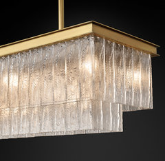 Glacé Linear Chandelier 49