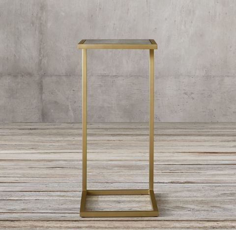 Graydon Shagreen Rectangular Cocktail Side Table