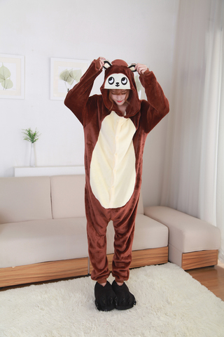 Кигуруми обезьяна коричневая