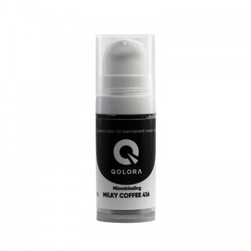 Пигмент Qolora Milky Coffee 416