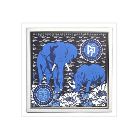 Слон и носорог