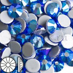 Закажите термостразы горячей фиксации Sapphire AB Сапфир АБ голубые по почте